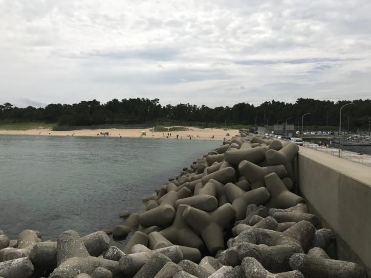 奈多漁港 ポイントD