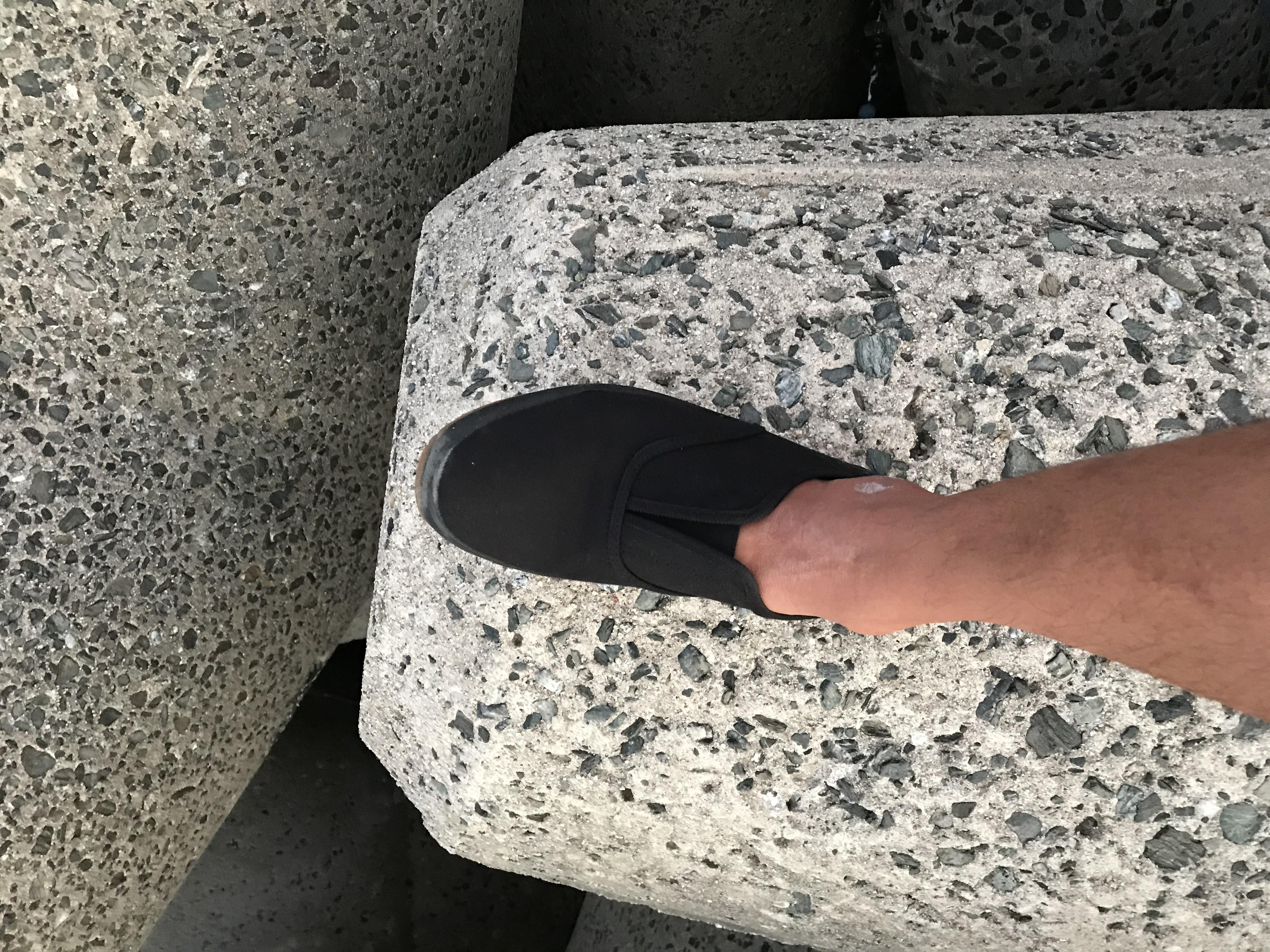 釣りワーク靴