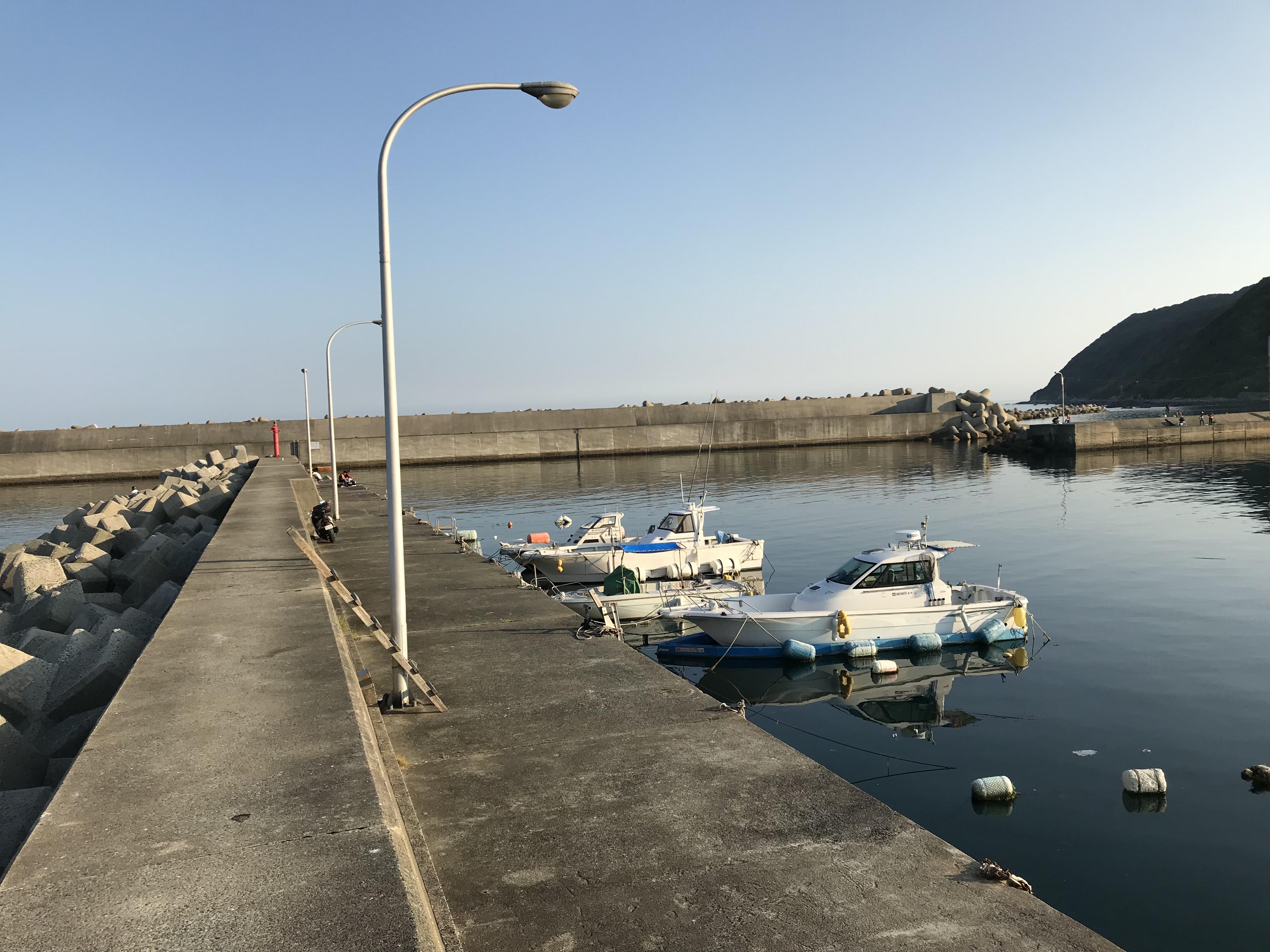西の浦漁港ポンとC